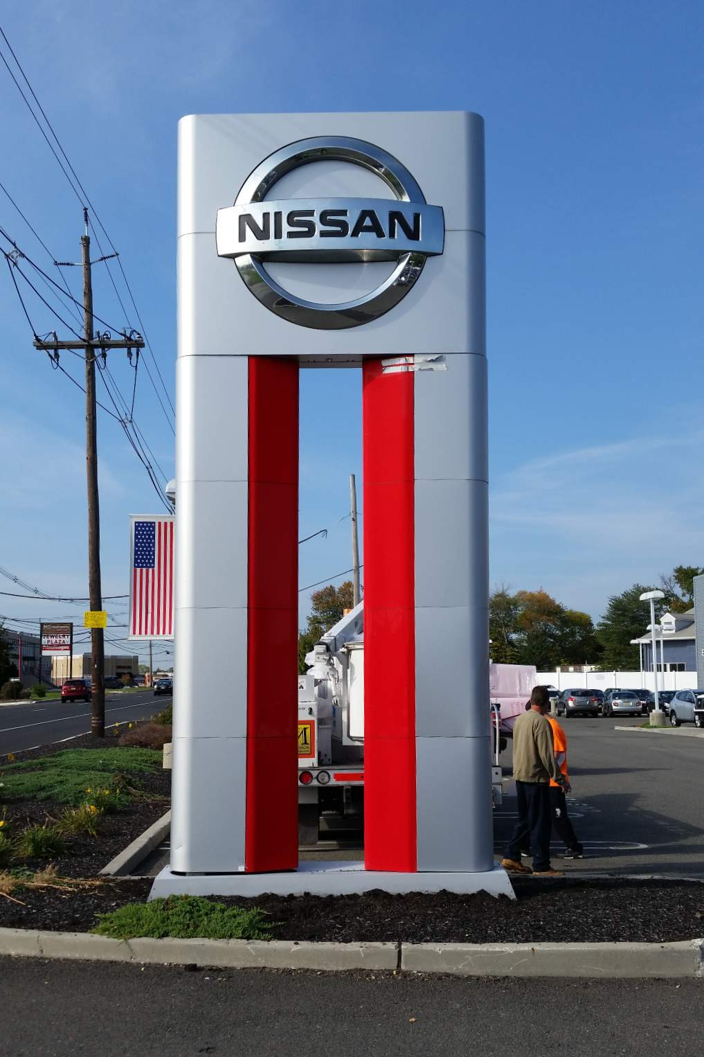 Custom Pylon Signs for a Business Complex or Shopping Center